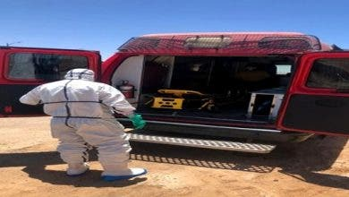 "Photo of العيون : نقل 7 اشخاص من اخفنير من اجل اجراء التحاليل المخبرية ل "" كورونا"""