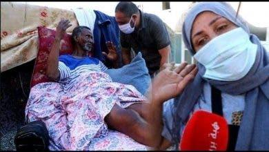 Photo of السرطان ينهش جسد متشرد بعدما تجاهلته وزارة الصحة واستقبلته الساكنة
