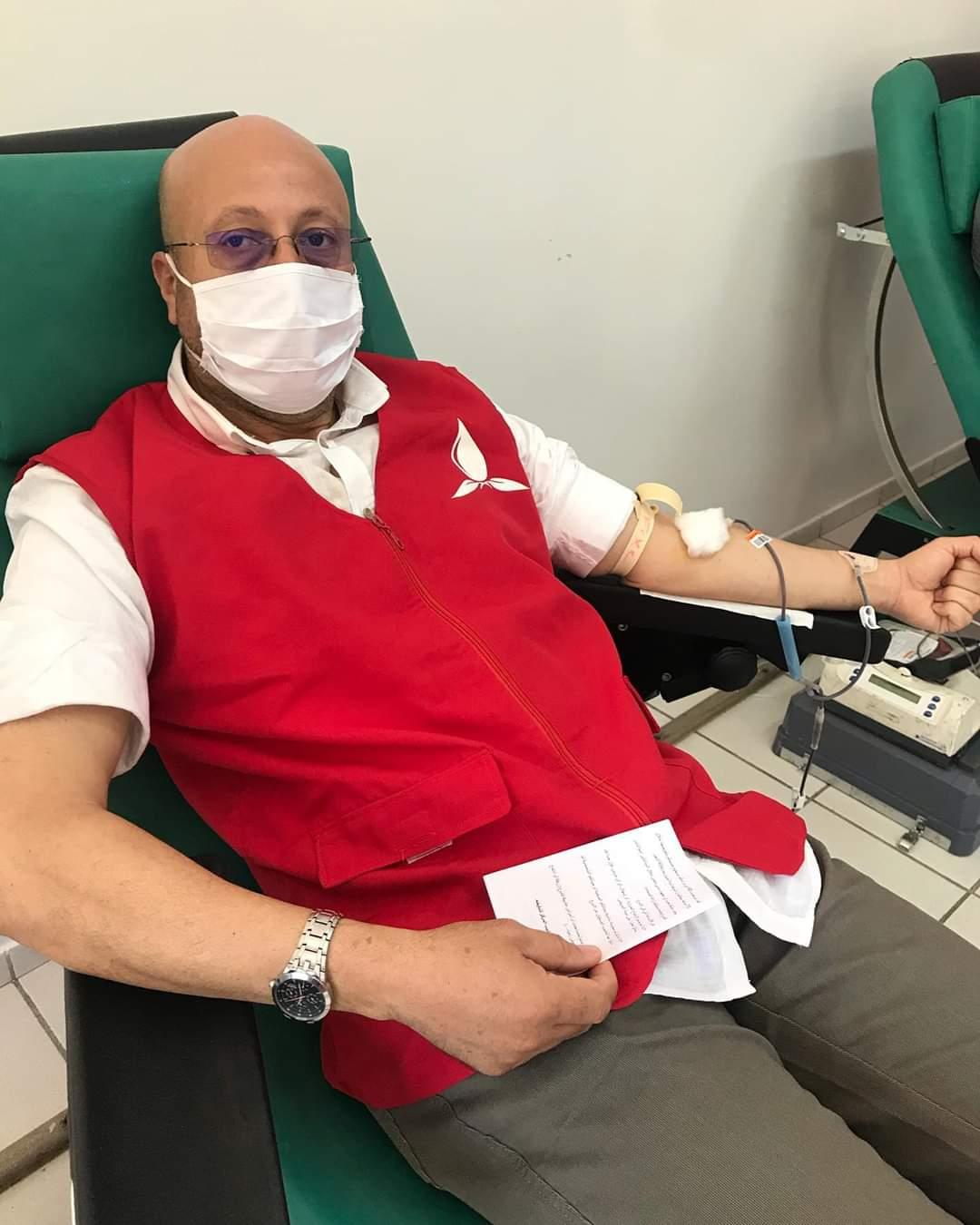 أطر و مستخدمي قطاع الكهرباء بجهة فاس _ مكناس يتبرعون بالدم ...