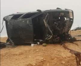 Photo of حادث سير خطير قرب جماعة الطاح جنوب طرفاية