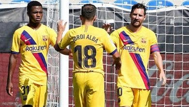Photo of برشلونة يودع الليغا بخماسية.. وتألق لميسي الهداف