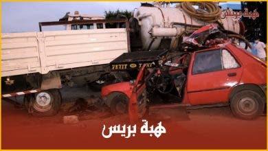 Photo of نجاة سائق سيارة أجرة من الموت بأعجوبة في حادثة سير خطيرة
