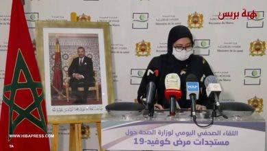 Photo of مستجدات مرض كوفيد 19 بالمغرب ليوم الإثنين 13 يوليوز 2020