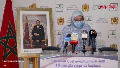 Photo of مستجدات مرض كوفيد 19 بالمغرب ليوم الثلاثاء 14 يوليوز 2020