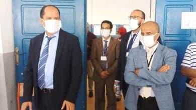 """Photo of مركز امتحانات البكلوريا """"المطاحن"""" بالجديدة نموذجا في التنظيم والتقيد بالتدابير الاحترازية"""
