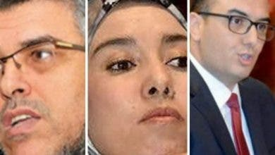 "Photo of مابين ""ماء العينين"" و ""أمكراز والرميد"" من اتصال !"