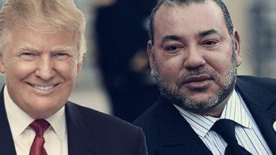 """Photo of الملك يبرق ترامب : """"معتزون بما يربط بلدينا من أواصر الصداقة العريقة"""""""