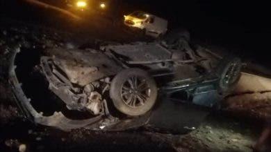 Photo of عناد بين سائقي ثلاث سيارات ينتهي بحادث بإنزكان ( الصورة)