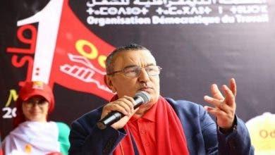 Photo of الـ ODT تُعبر عن رفضها تحويل المغرب إلى سوق للبضائع والمواد الخارجية