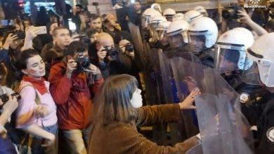 Photo of بعد مقتل 146 امرأة في 2020.. نساء يحتجن في تركيا دفاعا عن معاهدة اسطنبول