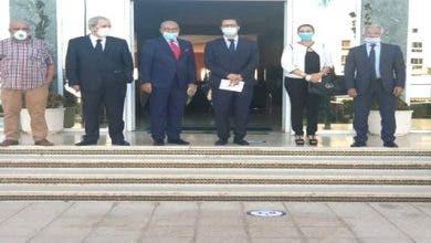 Photo of الفردوس يستقبل وفدا من المكتب التنفيذي للفيدرالية المغربية لناشري الصحف