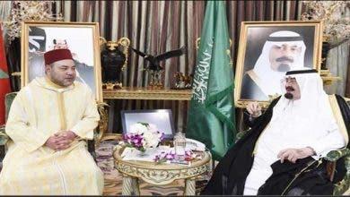 Photo of الملك يعزي خادم الحرمين الشريفين في وفاة الأمير خالد بن سعود بن عبد العزيز آل سعود