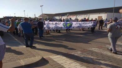 Photo of مغاربة يتظاهرون ضد التهميش والتمييز بمورسيا الإسبانية