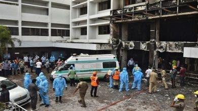Photo of وفاة 7 أشخاص في حريق بمنشأة لمرضى كورونا بالهند