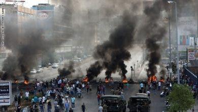 Photo of مقتل عنصر من قوات الأمن اللبناني في اشتباكات مع المحتجين وسط بيروت