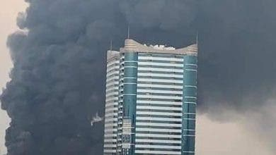 Photo of الإمارات .. حريق ضخم في سوق شعبي بعجمان