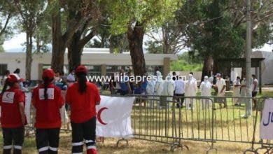 Photo of طنجة : مئات المصابين يغادرون الغابة الدبلوماسية لمواصلة العلاج بمنازلهم