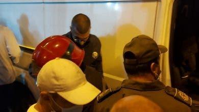 Photo of لحظة القبض على شخص بالبيضاء هدد بتفجير قنينة غاز