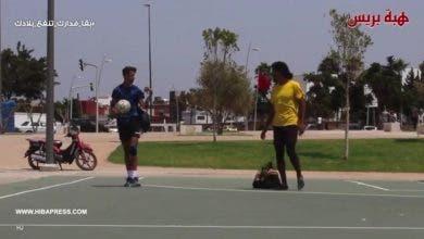 "Photo of ""شاب يحصد المرتبة الأولى على المستوى الافريقي في رياضة مداعبة الكرة ""فري ستايل"