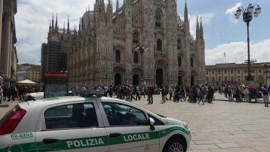 Photo of مسلح يحتجز حارسا داخل كاتدرائية ميلانو والشرطة تحرره