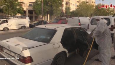 Photo of تعقيم سيارات الاجرة بفاس…رد فعل السائقين و المواطنين