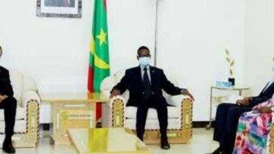 Photo of الوزير الأول الموريتاني يستقبل السفير المغربي.. وهذه تفاصيل اللقاء