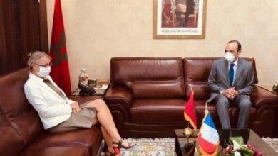 Photo of المالكي يجالس سفيرة فرنسا لتعزيز علاقات الصداقة والتعاون بين البلدين