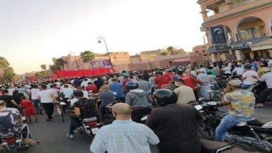 Photo of تجار قلعة السراغنة يحتجون على توقيت إغلاق محلاتهم التجارية